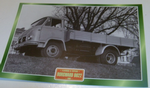 Borgward B622 1960 Flatbed Tipper truck framed picture